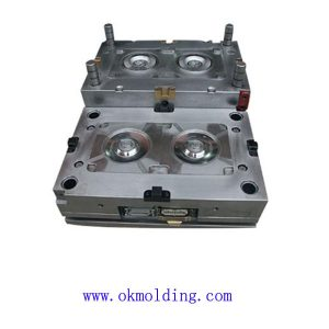 Plastic mold for electronic parts