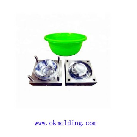 Wash basin plastic mold
